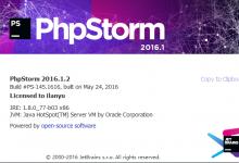 PhpStorm-2016.2汉化中文包